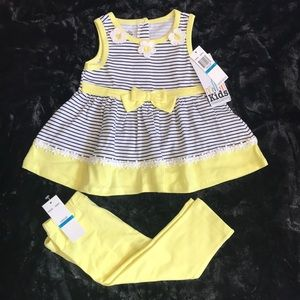 Kids Headquarters Girls 24M 2Piece Set.